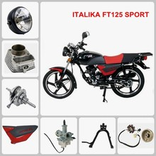 ITALIKA FT125 SPORT motorcycle spare part Front Wheel & Front Hub & Rim & Tire & Shoe Brake