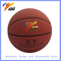 Sweat absorption cortex leather basketball ball