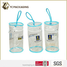 TC 14065 Plastic Clear Round Bag With Zipper
