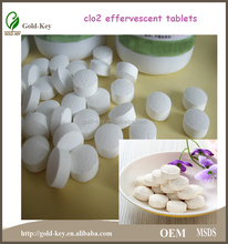 new product: Chlorine dioxide effervescent tablets for water purification