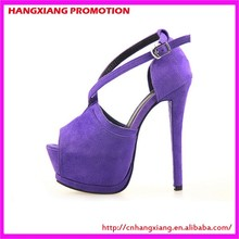 14.5 cm Super High Heeled Platform Shoes Women Sexy Black Open Toe Heels Multi Colors For Selection