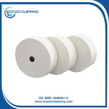 Viscose and Polyester White Spunlance Non Woven Fabric Manufacturer for Wet Wipe