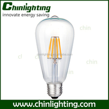 st64 e27 vintage edison light filament bulb new vintage filament light bulbs 5.5W st64 st21 style st64 standard led filament 6w