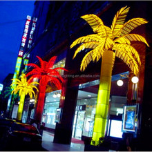 Environmental led light outdoor palm tree artificial
