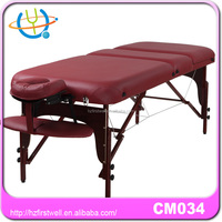 Firstwell masters massage table without side armrest extension