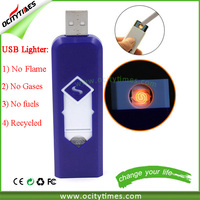 Led Vaporizer Smoking Cigarette Case With Lighter lighter smoke with display box for OEM FREE