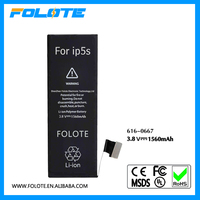 Best Selling Products Mobile Phone battery 5S for Iphone 5S battery, For iphone 5GS Akku