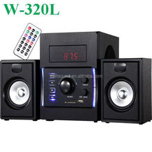 conference unique computer speakers best home theater audio with USB/SD/FM/Mini Remote Control