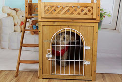 Made-in-China Wooden Dog House,pet cat house cage