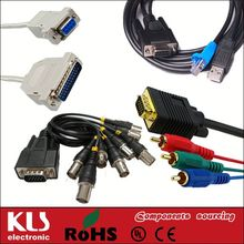 Good quality video to vga cable UL CE ROHS 149 KLS