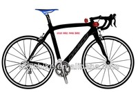 Dura ace 20s light weight carbon frame carbon road racing bike