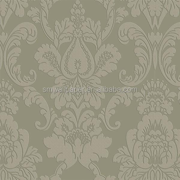 Colore grigio di alta qualità non  sfondi tessuto per camere d ...