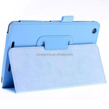 Lychee PU wallet mobile cell phone leather case with stand for Acer B1-730
