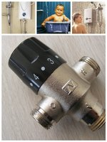 """1/2"""" water flow temperature control valves for solar system(China manufacturer)"""