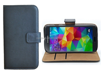 Card Slots Wallet Pouch Leather Case for Samsung Galaxy S5 Neo