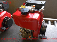 KA170F/ 1-Cylinder and 4-Stroke 4HP recoil start air-cooled diesel engine for pump and tiller use