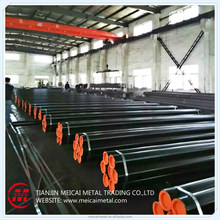 new round black carbon steel pipe and tube