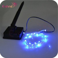 Wedding Decoration Christmas Color Changing Solar Energy Led Copper String Light