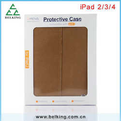 Stand Leather Case for Ipad 2/3/4 PU Leather Case