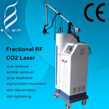 2015 hot sale beauty equipment fractional rf CO2 laser for pigmentation treatment and pore size removal