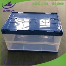 folding plastic container