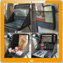 Foldable Car Seat Tray Table Food Holder Car Seat Back Laptop Holder Organizer