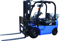 Japanese technic MAZDA /NISSAN engine Gasoline&LPG forklift truck with IMPCO system