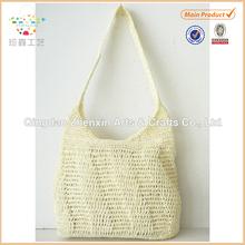2015 ZHENXIN new designed handmade paper crochet shoulder bag for women