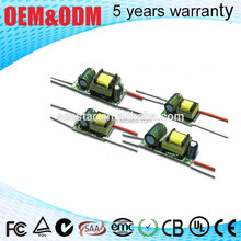 3W 6W 9W 12W 24v 150ma Internal open frame isolated constant current LED Driver power supply switching