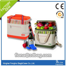wine cooler bag/bottle cooler bag/wine cooler bag made in china