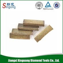 Diamond Sandstone Cutting Segment Stone Cutting Tips For 600/700/800mm Sandstone Cutting Blade Segment