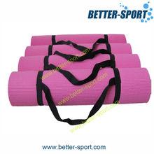 folding PVC yoga mat China, Eco-friendly PVC yoga mat for exercise