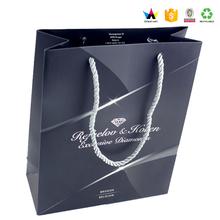 Custom Black Gift bags