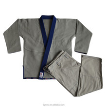 Custom embroidery patches bjj gi 100% cotton pearl weave fabric with embroidery and woven patches japanese kimono pattern