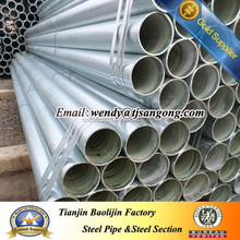 SCH 40 galvanized pipe/tube for water transfer