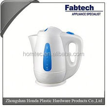 2012 NEW STYLE ENAMEL TEA KETTLE WITH DECAL AND WOODEN HANDLE-- HH-1.5