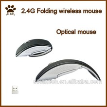 2015 Wholesale high quality 2.4g folding wireless mouse