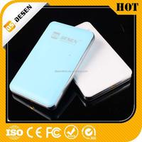 Hot sale golf mobile power bank 10000mah external battery charger