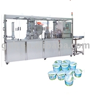 Plastic Cup/bowl Filling & Sealing Machine