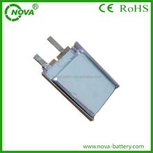 3.7v 300mah rechargeable polymer li-ion battery 552025 for track gps/led lights
