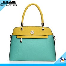 Top quality best design tote bag for lady cow leather handbags fashion ladies