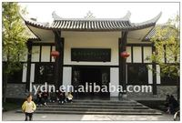 China style flat clay roof tiles