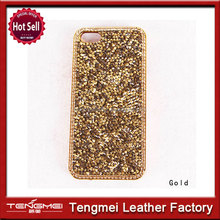 High quality flip shiny bling tpu covers for iphone 5,5s