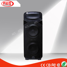 3000w professional dual 15 inch plastic active pa speaker