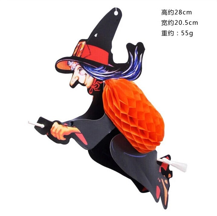 Halloween Party Supplies Decorations Halloween Witch wall Hanging ...