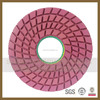 promotion 80/125/150/180mm Size Diamond Wet & dry diamond Polishing Pad with Buff Grit