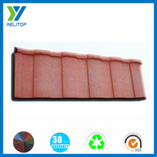 Sand coated roofing fire proofing color steel roof