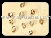 elongated,triangular,flate,longs and maacles shape natural diamond