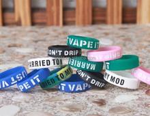 USA hot sale decorative and protection silicone vape band customized logo service vape band design your logo
