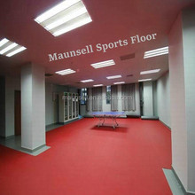red color factory sales table tennis pvc floor inoorwith no smell 5mm thickness